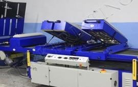 uv drying unit dispersion machine